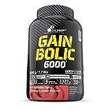 Olimp Sport Nutrition Gain Bolic 6000 Mélange de Protéine Fraise 3,5 kg