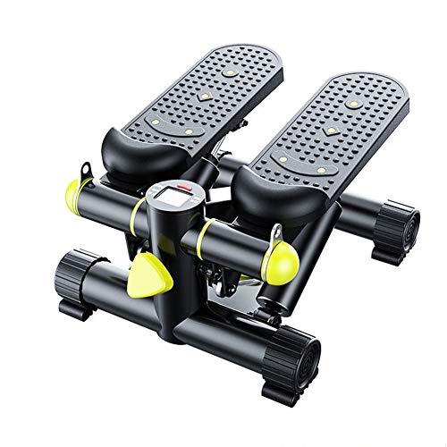 Mini Stepper, Aerobic-Stepper, Schnell Abnahmen Fettverbrennung Muskel Aufbau Sportgeräte Crosstrainer klappbar für Zuhause MaxImal bis 150kg