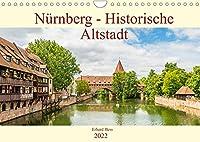 Nuernberg - Historische Altstadt (Wandkalender 2022 DIN A4 quer): Historische Sehenswuerdigkeiten der Nuernberger Altstadt (Monatskalender, 14 Seiten )