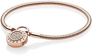 Pandora Women Gold Plated Statement Bracelet - 587757CZ-18