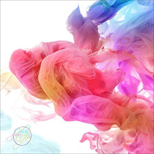 Pro-Art gla1055d Wandbild Glas-Art 'Colour Your Life I' 20 x 20 cm