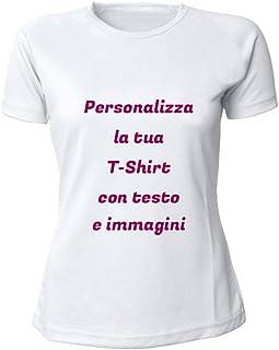 28cef00f1 Altra Marca T-Shirt Donna Personalizzata con Testo, Foto e Immagini
