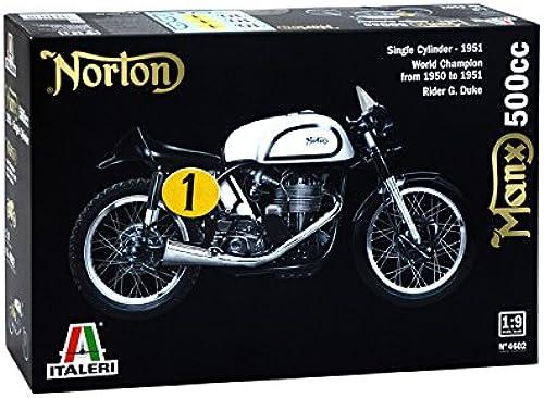 gran selección y entrega rápida Italeri 4602 4602 4602 Motorcycle Model - Modelos de Juguetes (Motorcycle Model, 1 9, negro, blanco, Caja, 373 mm, 241 mm)  almacén al por mayor
