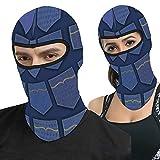 I Love Blue Jeans Full Face Ma-sk Hood Cubierta táctica al aire libre Cabecera Motocicleta Máscara C...