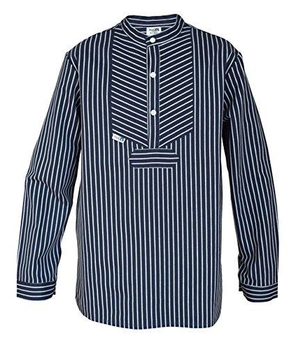 modAS Fischerhemd für Kinder breit gestreift Basic Größe 92