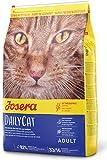 JOSERA DailyCat (1 x 10 kg) | getreidefreies Katzenfutter mit Geflügel, Kräutern und Früchten | Super Premium Trockenfutter für ausgewachsene...