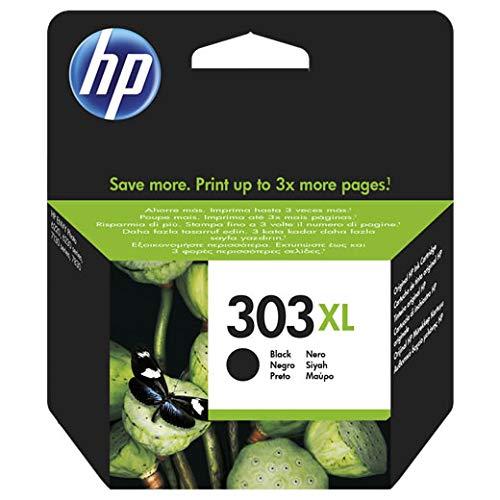 Cartouche d'encre Noire HP 303XL T6N04AE pour HP Envy Photo 6220 6230 7130 7830 High Yield 600 Pages