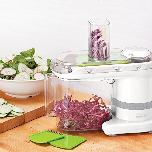 Dash Electric Mandoline & Food Slicer, White