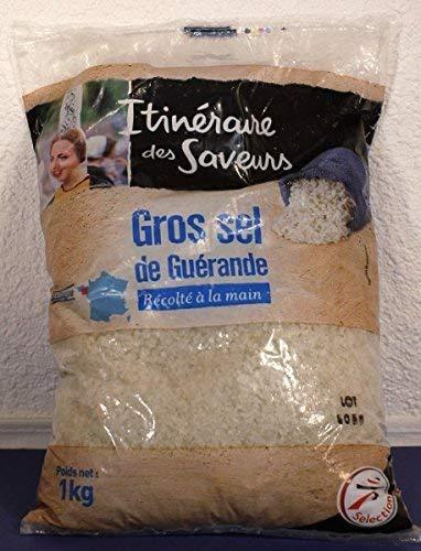12 Kg Gros sel de Guerande-Meersalz grob-grau-Bretagne/Frankreich
