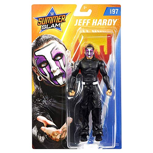 WWE - SummerSlam Figura de acción luchador Jeff Hardy con accesorios de lucha...