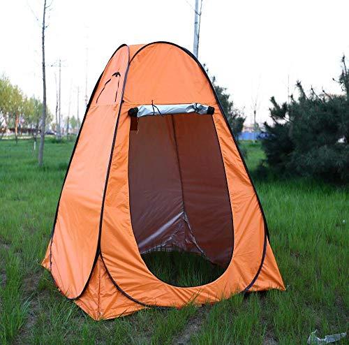 ZFLL Buitentent douchegordijn voor buiten, afmeting 150 x 150 x 185 cm, buitentent / toiletgordijn/pop-up tent met UV-functie