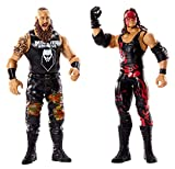 WWE- Battle Pack Braun Strowman vs Kane Playset con 2 Personaggi, GBN56