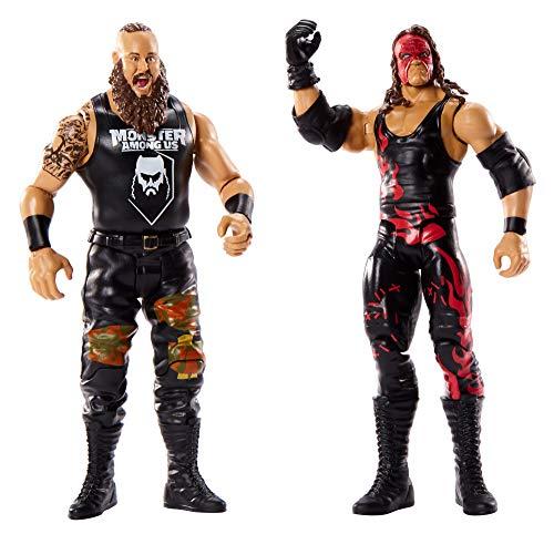WWE Pack de 2 Figuras de acción Luchadores Braun Strowman&#
