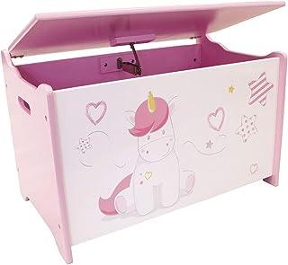FUN HOUSE 713050 Licorne Coffre à Jouets pour Enfant, à partir de 3 Ans