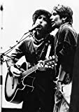 Celebrity Photos Bob Dylan and Joan Baez Performing on