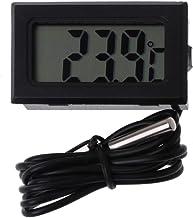 JENOR Termómetro digital LCD de lectura instantánea para frigorífico, monitor de acuario, detector de visualización