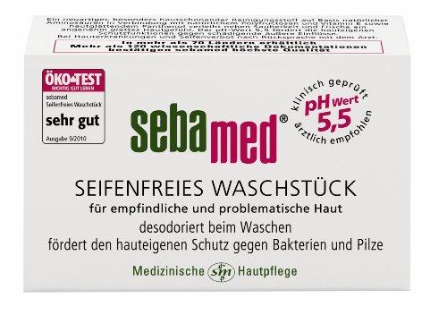 Sebamed seifenfreies Waschstück, 4er Pack (4 x 100 g)