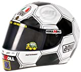 Casco AGV Valentino Rossi GP Barcellona 2008 1:2 Replica