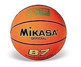 MIKASA B7 - Balón de Goma, Color Naranja, tamaño 7