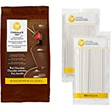 Wilton Chocolate Pro Fountain and Fondue Chocolate with Lollipop Sticks Set, 2-Piece - Chocolate...