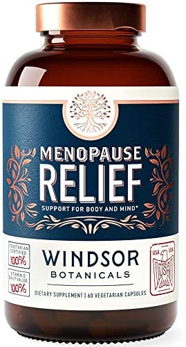 Menopause Relief Supplement for Women Support for Hot Flushes Sweats Mood and Insomnia Windsor product image