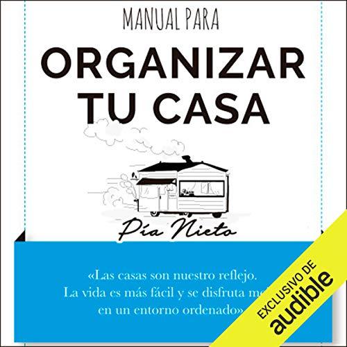 Diseño de la portada del título Manual para organizar tu casa