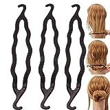 HeiHy 10 Pièces Pinces à Cheveux en Plastique pour Chignon Accessoires de Coiffure pour Femmes Filles