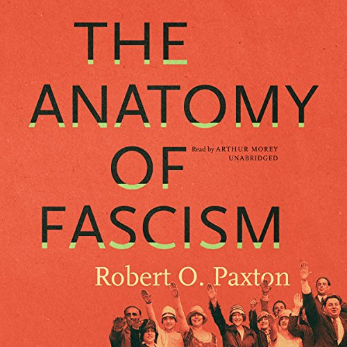 The Anatomy of Fascism audiobook cover art