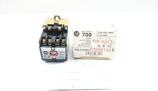 ALLEN BRADLEY 700-P400A1 Direct Drive Control Relay 115-120VAC SER B D634070
