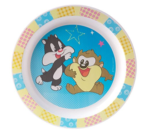 FUN HOUSE Baby Looney Tunes Assiette Micro-ondable