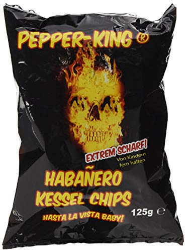 XOX Pepper-King Habanero-Chili, 1er Pack (1 x 125 g)