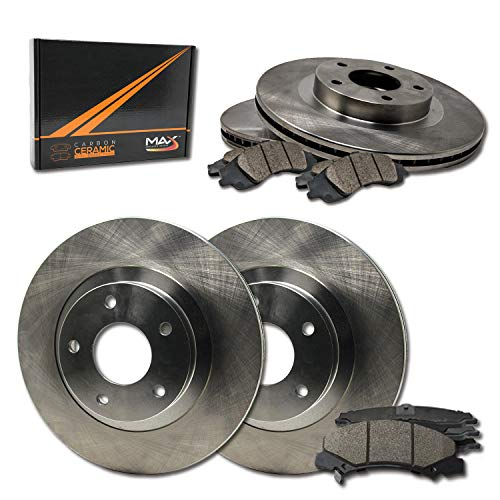 [Front + Rear] Rotors w/Ceramic Pads OE Brakes 03-06 Expedition Navigator