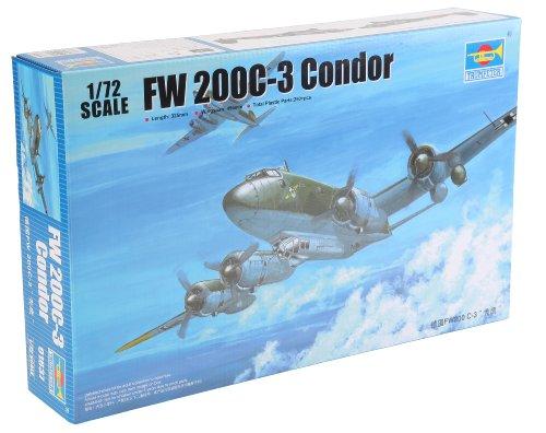 Trumpeter 01637 Modellbausatz FW200 C-3 Condor