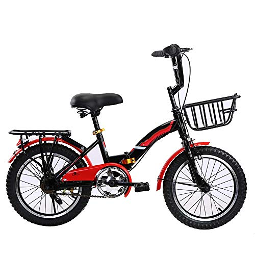 YumEIGE kinderfiets fiets kind 16 18 20 inch, kinderfietsen klap- en steunframe, kinderfiets kind 4-15 jaar oud cadeau zwart, blauw, roze, wit