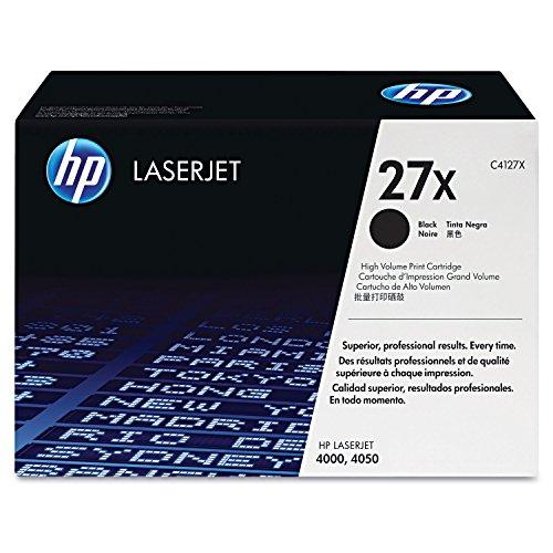 hewc4127X–HP 27X (C4127X) alto rendimiento negro original LaserJet cartucho de tóner