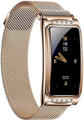 GPWDSN Relojes Inteligentes Seguimiento Deportivo con 5ATM Relojes Inteligentes Bluetooth a Prueba de Agua 1.3 Pantalla táctil Completa en Deportes Monitor para Dormir Monitor 15 días de durac
