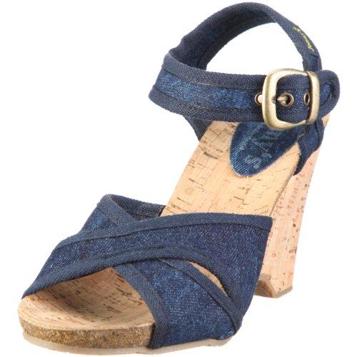 Jonny's Damen Esther Fashion-Sandalen, Blau/Jeans, 41 EU