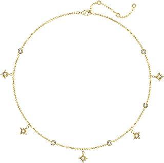 Dainty Necklace القلائد الإناث الاتجاه الجديد بسيط الذهب مطلي مزاج الرجعية الترقوة سلسلة القلائد للنساء Necklaces for Wome...