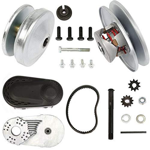 VEVOR Go Cart Torque Converter 1Inch Go Cart Clutch Kit CVT Go Kart Mini Bike Drivern Clutch, With 5/8