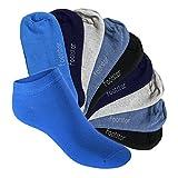 Footstar Kinder Sneaker Socken (10 Paar) - Sneak it! - Jeanstöne 23-26