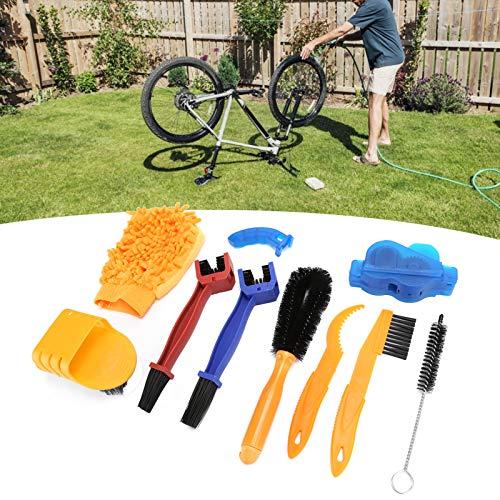 IDWT Cepillo de Limpieza para Bicicletas, Conveniente Herramienta de Cepillo de Limpieza para Bicicletas Diseño de Rueda Libre portátil para Bicicleta Plegable para Carretera para montaña