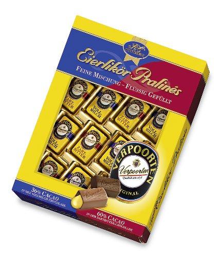 RCP Verpoorten Eierlikör-Pralinés, Mischung, Vollmilch- und Zartbitter-Schokolade, Flüssige Füllung, Alkoholhaltig, Tolles Geschenk, 2 x 160 g