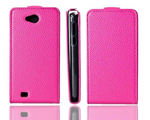 caseroxx Flip Cover für Medion Life E4503, Tasche (Flip Cover in pink)