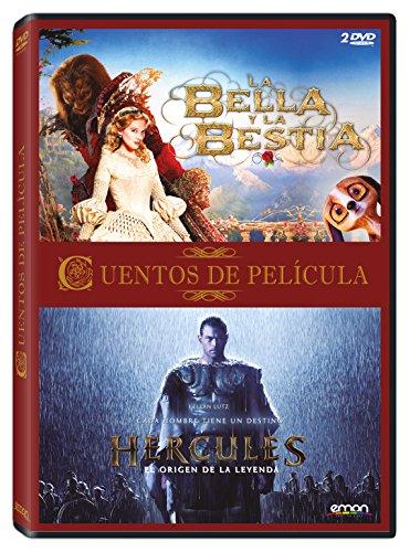 Pack Cuentos De Película: Hércules + La Bella Y La Bestia [DVD]