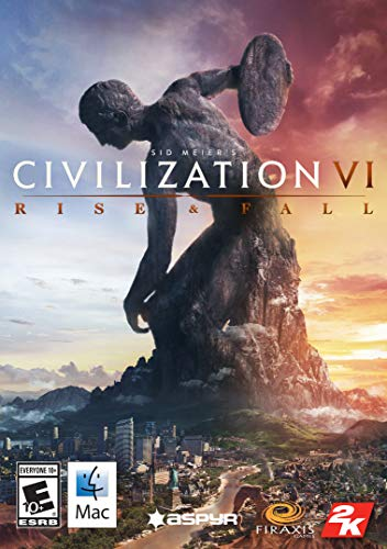 Sid Meier's Civilization VI: Rise and Fall [Online Game Code][Mac] [Mac Code - Steam]