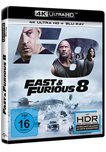 Fast & Furious 8 (4K Ultra HD) (+ Blu-ray)