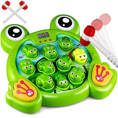 KKONES Music Super Frog Game Toddler...