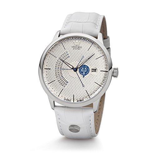 Kronsegler Oxford Masters - Reloj automático para mujer, acero plateado