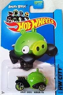 Hot Wheels 2013 Angry Birds Minion Pig HW CITY 81/250