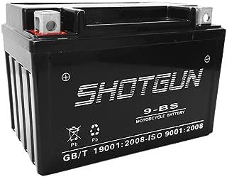 YTX9-BS Replacement Shotgun Battery for 2011-05 Hyosung GV250 SMF, 1 yr Warranty